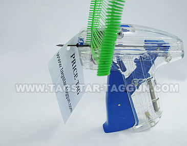 How to use tagstar tag gun - step-3