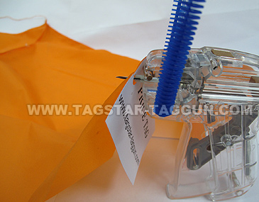 How to use tagstar tag gun - step-4